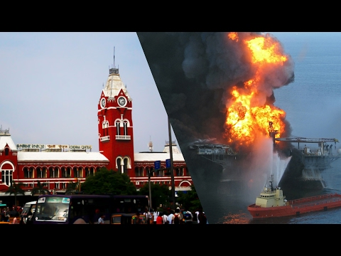 Worst oil spillages in history | Chennai Ennore