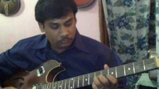 Bekarar karke hume solo on Guitar
