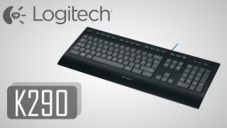Logitech K290 Keyboard [Unboxing] [Deutsch]