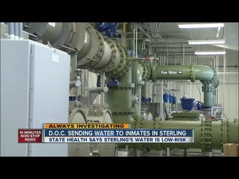 Sterling water quality forces DOC to ship in water to prison
