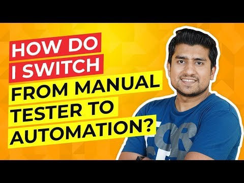 How To Switch From Manual To Automation Testing || 5 Steps & Lesson Learned.