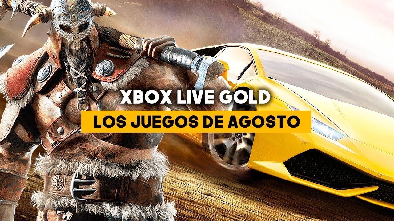 Los JUEGOS de XBOX LIVE GOLD de AGOSTO 2018