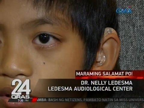 10-anyos na bata na may hearing loss, hinandugan ng hearing aid