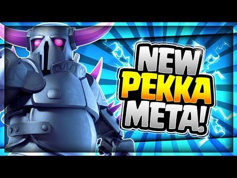 ULTIMATE PEKKA DECK after UPDATE!! Destroy the Meta!! Ladder & Challenge Deck - Clash Royale