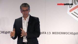 Dr. Bernhard Rohleder Keynote zu Online-Datenschutz und Sicherheit