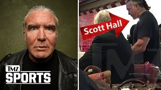 WWE Legend Scott Hall Booted from Airport Bar for Calling Bartender a Bitch | TMZ Sports