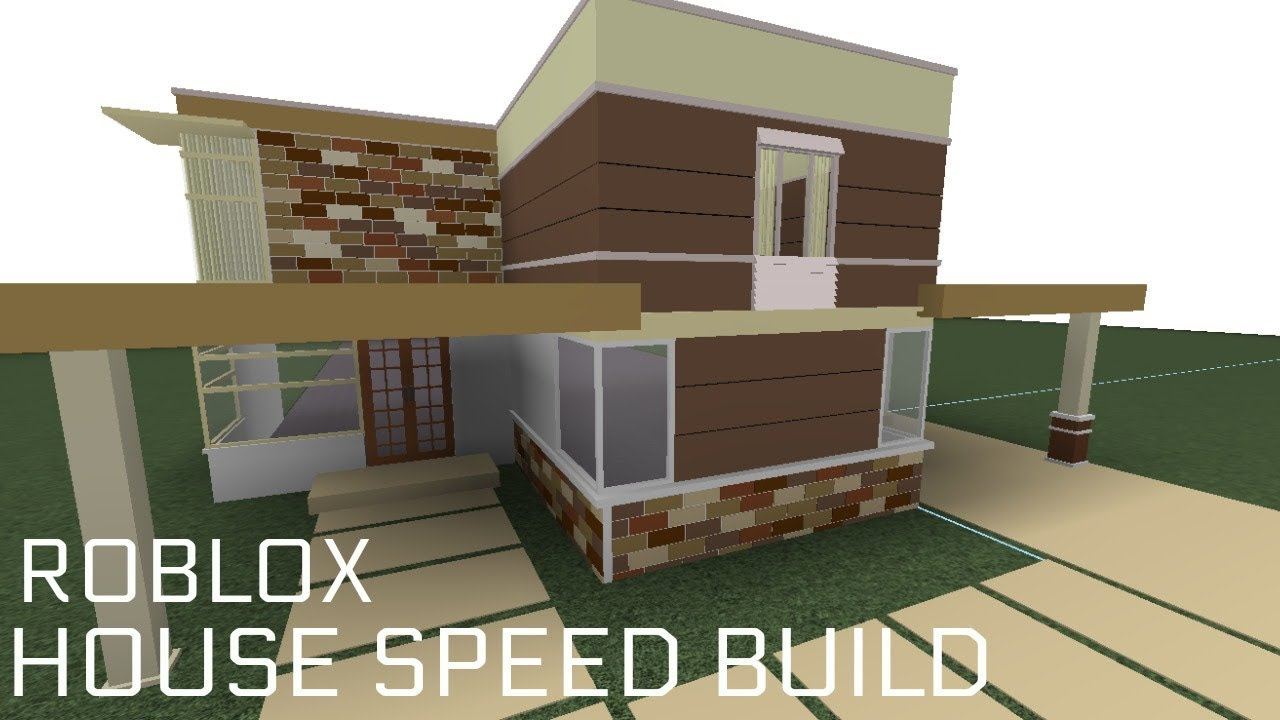 Roblox speed build house f3x building youtube for Build a home