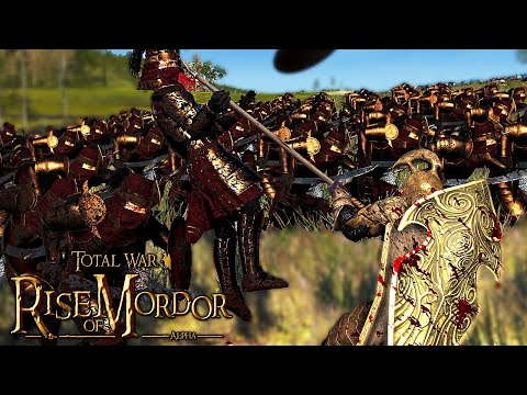 The New Lindon Elf Units Are So OP! - Total War: Rise Of Mordor