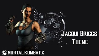 Mortal Kombat X - Jacqui Briggs: Full Auto (Theme)(Download this track from: https://soundcloud.com/statronika/jacqui-briggs-full-auto Soundtrack for Jacqui Briggs that I composed. Twitter: @statronika ..., 2015-06-14T23:37:23.000Z)