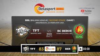 Download lagu TFT - BC Beroe   Second stage, 1st round BIBL   24-Feb-2021  