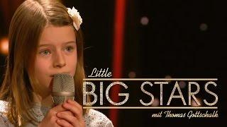 Sie singt wie ein echter Superstar (Marjolein) | Little Big Stars mit Thomas Gottschalk | SAT.1
