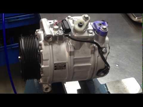 Mercedes-Benz ML164. Ремонт компрессора кондиционера.