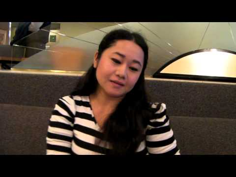 Lovely Malay movie star gives first impressions of Osaka, Japan