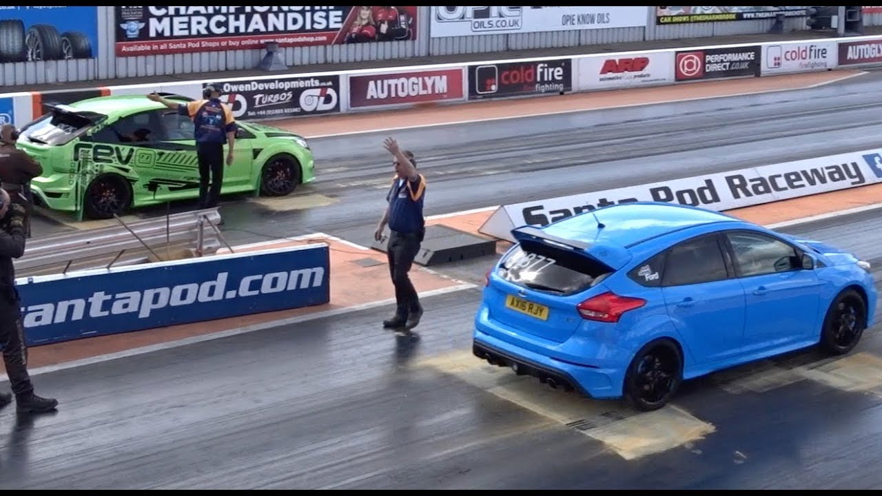 Mk2 And Mk3 Ford Focus Rs At Usc 2017 Best 1 4 Mile 13 50