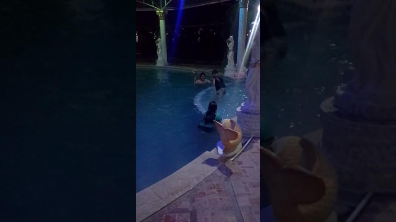 Night Swimming At Terraza De Nino Resort Bantay Ilocos Sur