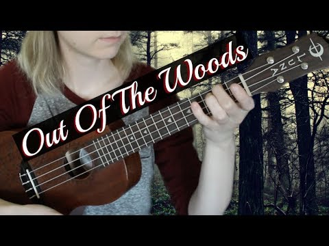 Out Of The Woods - Taylor Swift   EASY UKULELE TUTORIAL