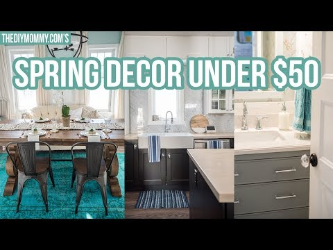 Spring Home Decor Ideas Under $50!.com