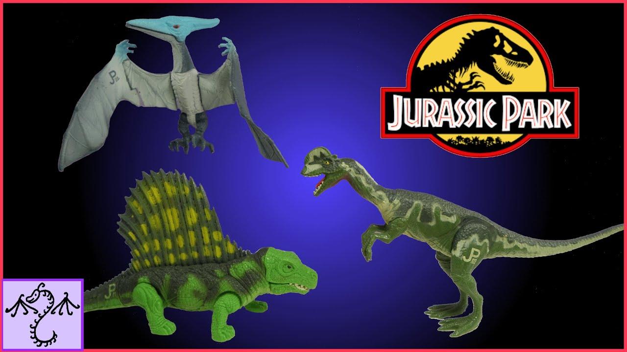 1993 jurassic park toys dimetrodon pteranodon
