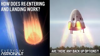 How does SpaceX's Dragon get back to Earth from Orbit? How exactly it re-enters and lands!