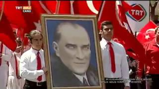23 Nisan Şenlik Yürüyüşü 2017 - 1. Gün (19 Nisan) - Nevşehir - TRT Avaz
