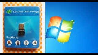 Best mini Bluetooth 4.0 Usb Dongle For PC(Windows 7,8,10)