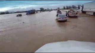 Check out this flood video on I 5 near Williams, CA