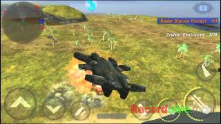 [GUNSHIP BATTLE]DRAGON SHIP-Defense Radar Base(GamePlay)