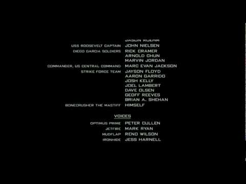 Transformers 2 Ending Credits (New Divide)