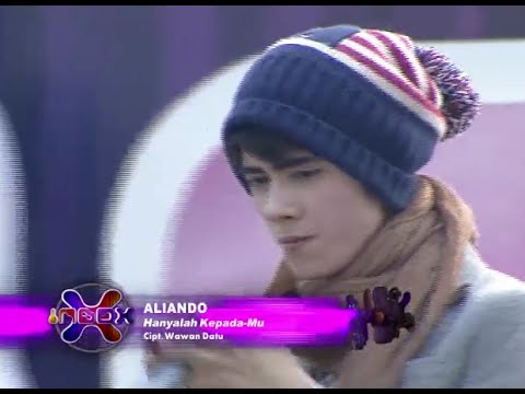 Aliando -  Hanya KepadaMu (Live on Inbox)