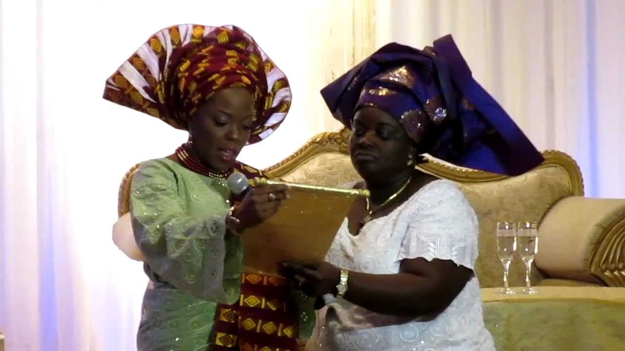 Yoruba Engagement Letter Youtube