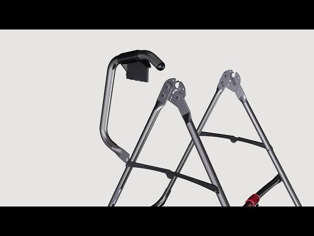 Assemblez A-Frame de base & Stretch Assist Poignées (Modèles X2 ou X3)