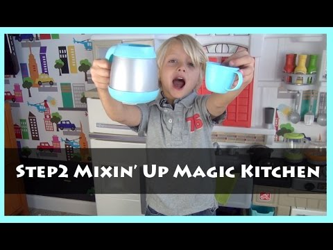 Bg Toy Review Step2 Mixin Up Magic Kitchen Unboxing
