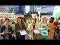 台湾10万人デモ同時開催!/東京五輪「台湾正名」署名呼掛風景2018.10.20【中国の台湾侵略・併呑反対!台湾独立建国断固支持!緊急国民行動(演説会)】※3