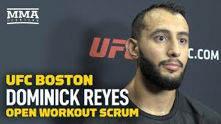 UFC on ESPN 6: Dominick Reyes Thinks Chris Weidman's Chin Won't Hold Up - MMA Fighting