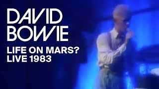 David Bowie - Life On Mars? (Serious Moonlight DVD)