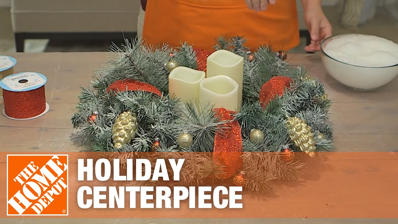 making christmas centerpieces
