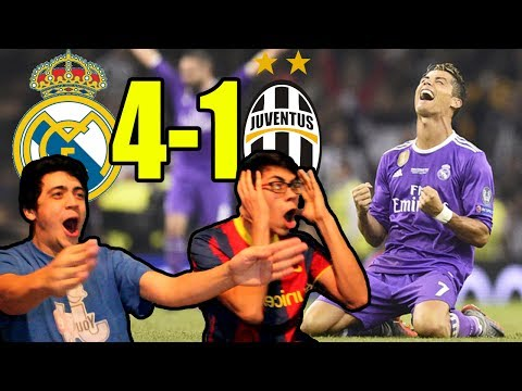 Real Madrid vs Juventus (4-1) | Final UEFA Champions League (REACCIONES)