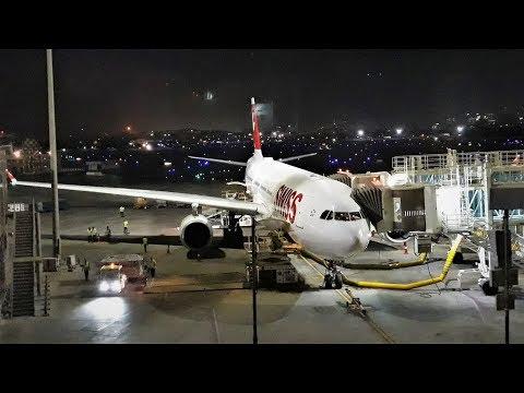SWISS International Airlines - Flight LX 155 from Mumbai to Zurich!