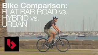 Download Video Urban vs Flat bar vs Hybrid Bikes Explained MP3 3GP MP4
