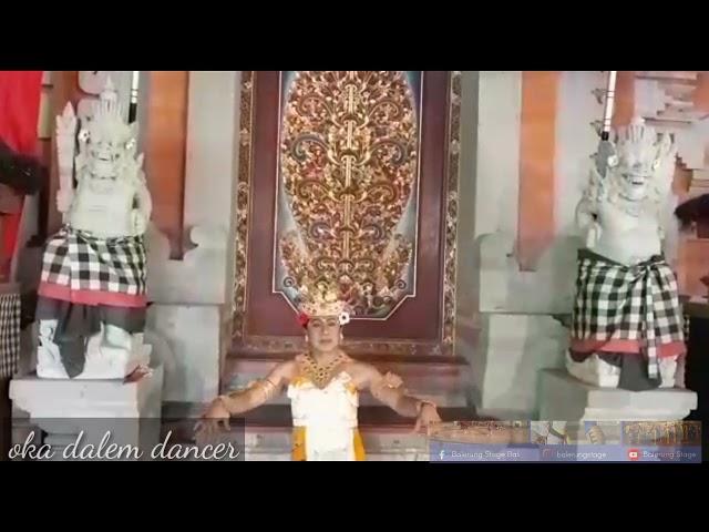 Tanah Air with dance by Oka Dalem Dancer Balerung Stage Peliatan