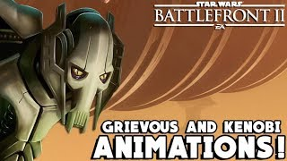 General Grievous and Obi-Wan Kenobi Updated Animations Found! Star Wars Battlefront 2
