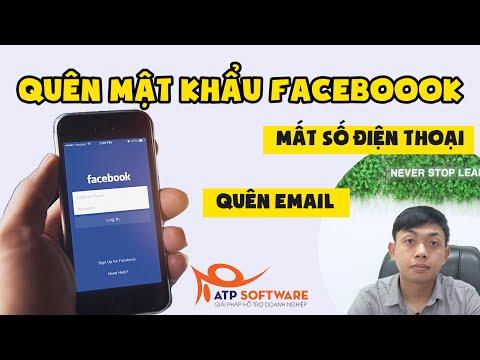 cách hack nick facebook bằng số điện thoại - Cách Lấy Lại Tài Khoản Facebook Quên Mật Khẩu Trong 5 Phút| ATP Software