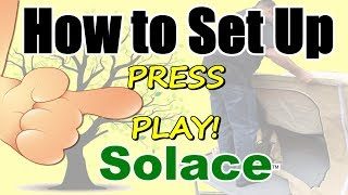 Pull behind Motorcycle Camper Trailer - How to Set up Solace - a Demonstration