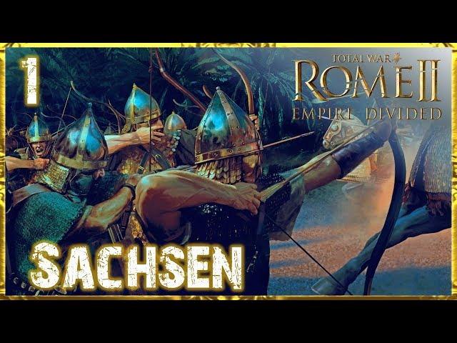 Letsplay Empire Divided Total War: Rome 2 (German | HD | Sehr schwer) #1 Sachsen