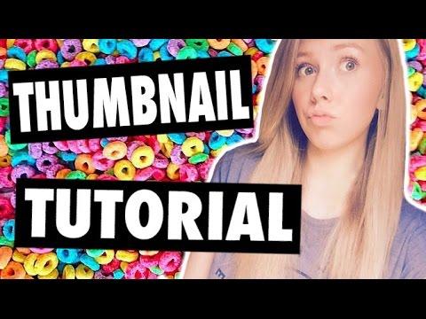 Video Thumbnail Tutorial! How To Make and Add Custom YouTube Thumbnail