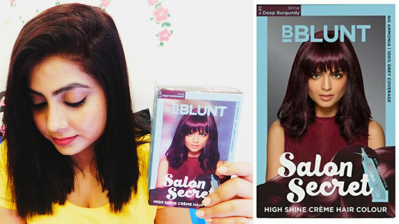 Image result for BBLUNT Salon Secret High Shine Crème Hair Colour