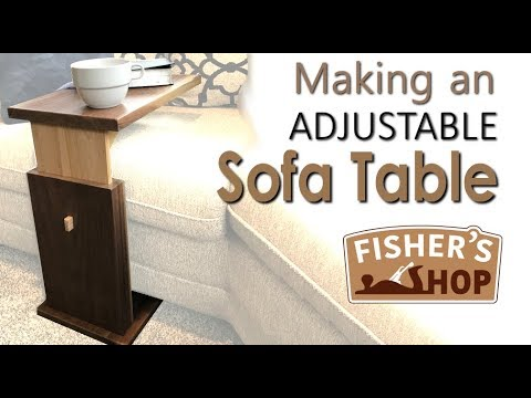 Making An Adjule Sofa Table