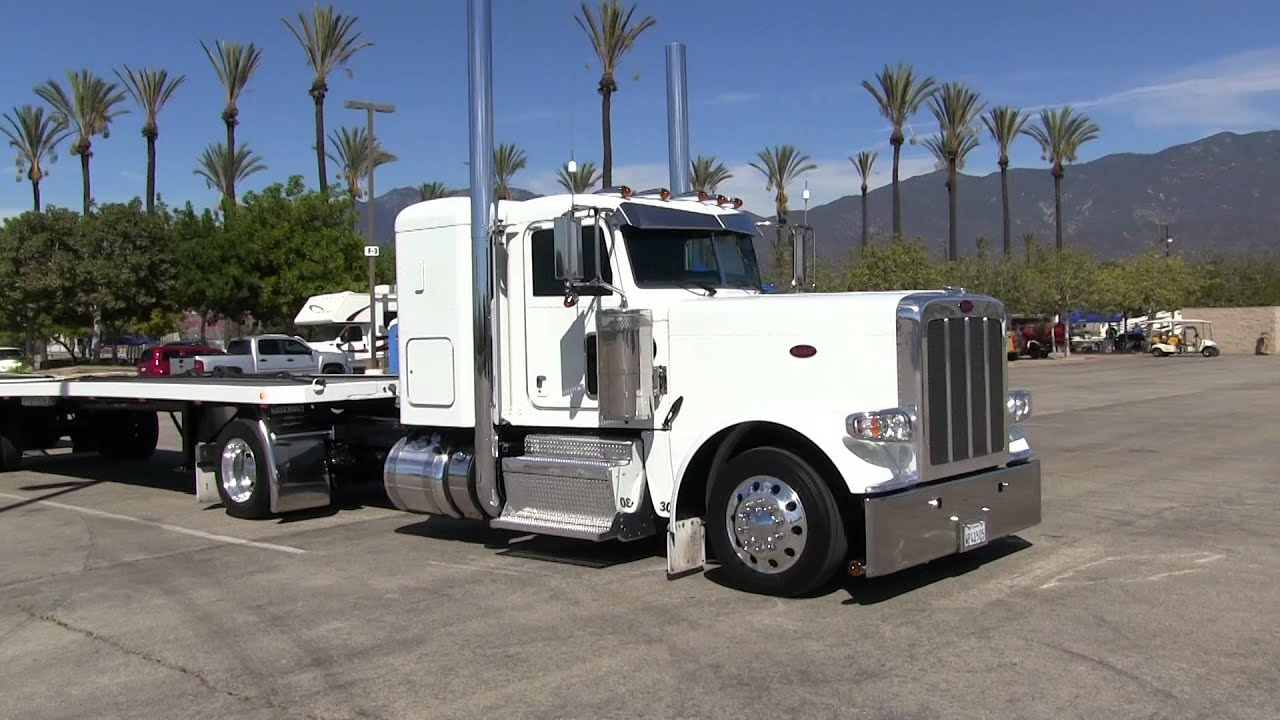 Miller Trucking S Super Clean Peterbilt 389 And Hay