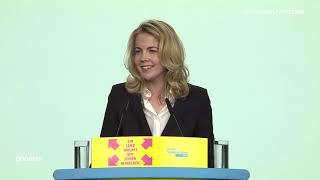 FDP-Parteitag: Bewerbungsrede von Linda Teuteberg als Generalsekretärin am 26.04.19