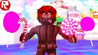 РОБЛОКС КАК Я ПРЕВРАТИЛСЯ В ШОКОЛАД НА ФАБРИКЕ ШОКОЛАДА ROBLOX видео игра как мультик для детей